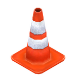 Traffic cone preview