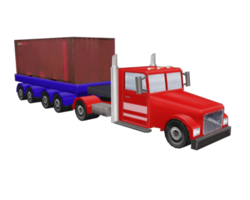 Truck container preview