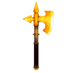 Chaos axe.gold skin.preview