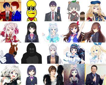 NHK Virtual Nodo Jiman Cast