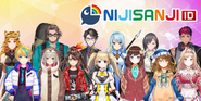 Nijisanji ID Lineup August 2020
