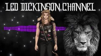 Welcome to the Lion's Den. Leo Dickinson the Heavy Metal VTuber enters the scene.