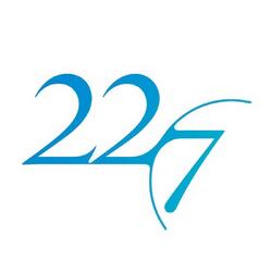 22∕7 Logo