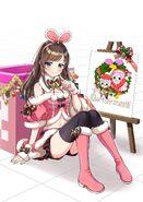Kizuna AI - Christmas Official Art