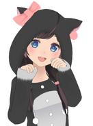 Sakurazuki Kanon - Cat Hoodie