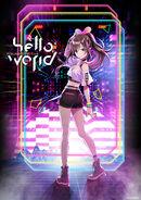 Kizuna AI - hello, world Official Promo Poster