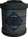 Cryogenic storage container