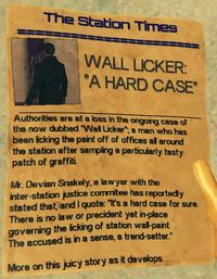 EndMsg-WallLicker