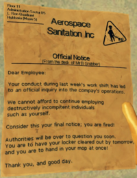 Notice-Fired