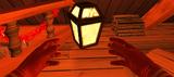 Santa lantern