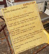 Bob note 03-02-2184