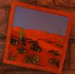 Santa Desert Painting