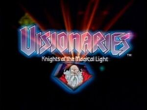 Visionaries Title Card