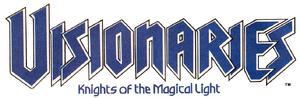 Visionaries comic logo