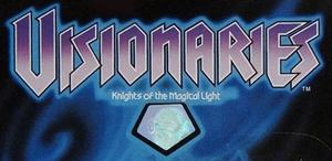 Visionaries toy package logo