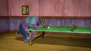 Old Fizzlybear Sleeping