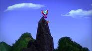 Hogsel and Gretella Climbing A Mountain