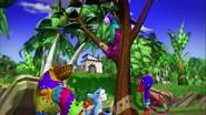 Hudson Hanging On Tree