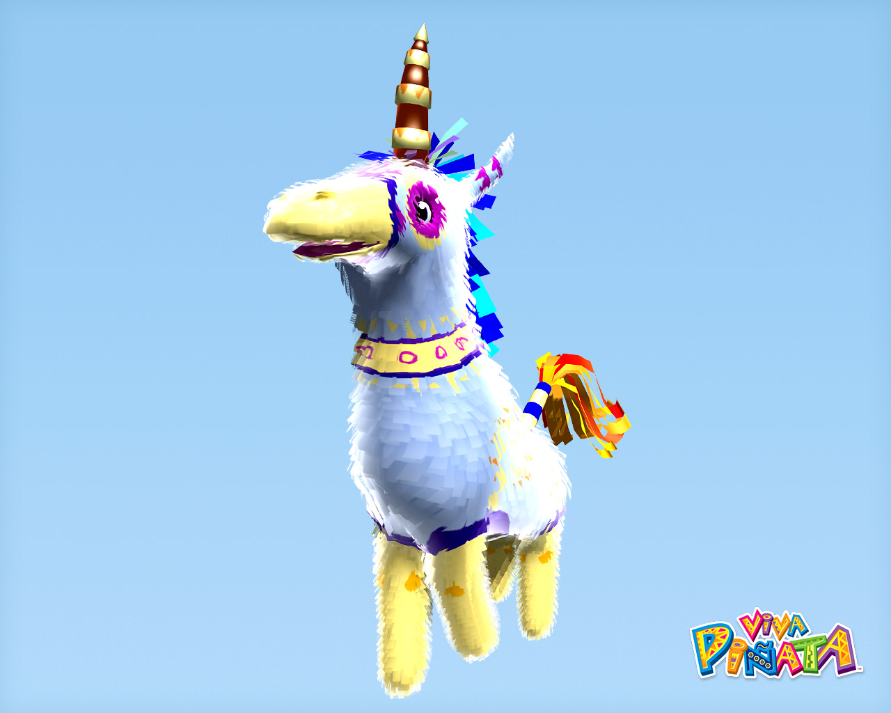 viva pinata horse