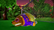 Franklin Fizzlybear Knocked Out By Sour Ball