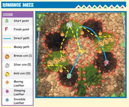 Flutterscotch romance maze