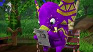 Ella Reading Piñata Yada-Yada