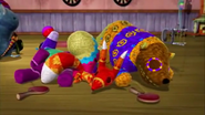 Franklin, Paulie, Fergy, and Hudson Sleeping