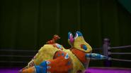 Freddy Flapyak Knocked Out