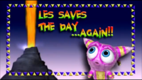 Les Saves the Day... Again!!