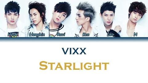 Video - VIXX (빅스) - Starlight Color Coded Lyrics (ENG ROM HAN