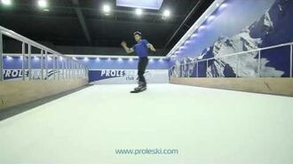 Горнолыжный тренажер PROLESKI - катание на горных лыжах и сноуборде