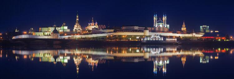 Nochnoy kazan kreml