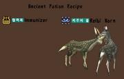 Ancient potion