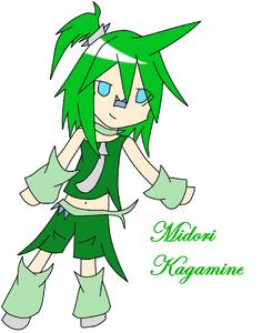 Midori Kagamine by Riku Heartilly