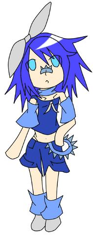 Deep Blue Aoi Kagamine by Riku Heartilly