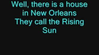 The House of the Rising Sun (The Animals)