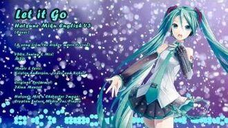 Frozen - Hatsune Miku English V3 - Let it go Vocaloid-0