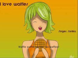 "Image of ""I Love Waffles"""
