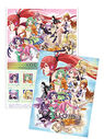VOCALOID3 Stamp Sheet Set Blue Poster