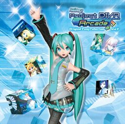 "Image of ""初音ミク -Project DIVA Arcade- Original Song Collection Vol.2"""