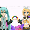 Rainbow Miku Rin