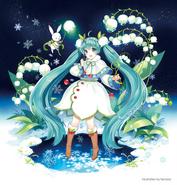 Snow Miku 2015 Main Visual