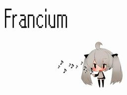 """Image of """"Francium"""""""