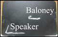 Baloney speaker ft Miku