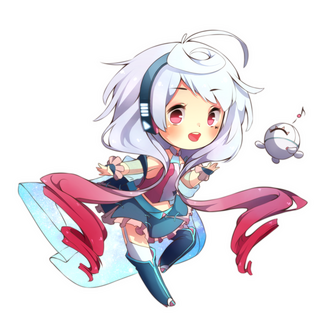 Chibi Maika by Noririn