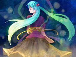 "Image of ""雨夜の月 (Amayo no Tsuki)"""