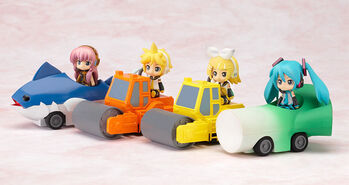 Nendoroid Plus - Pull-back Cars