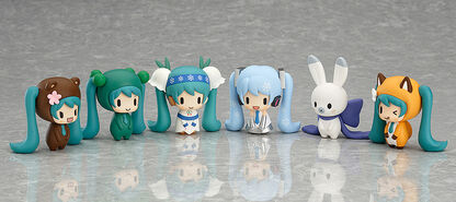 Capsule Factory Snow Miku and Friends from the North