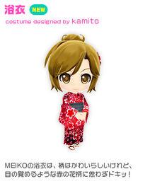 Costume yukata meiko