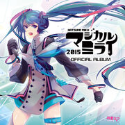 Magical Mirai 2015 official album artwork